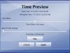 Time Preview